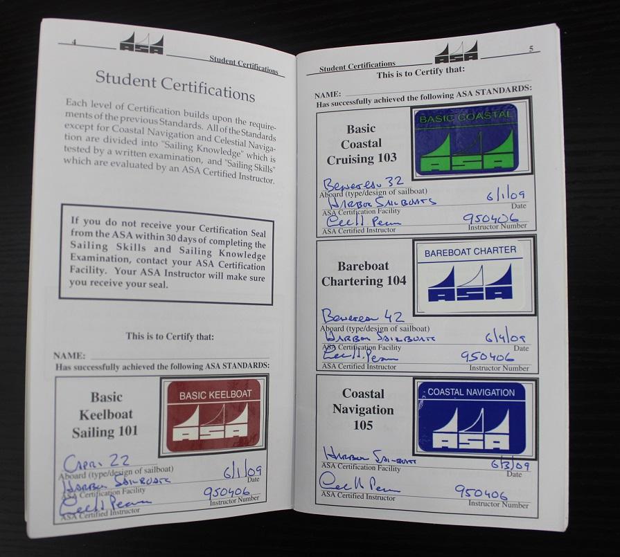 Do ASA Certifications Expire? - Harbor Sailboats
