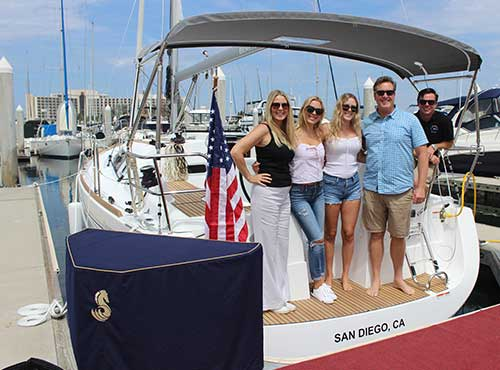 Sailing Club and Lessons - Sailboat Charters in San Diego