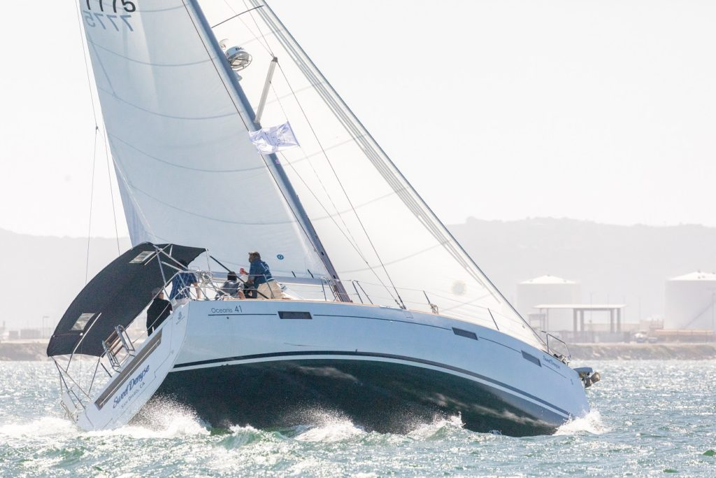 63ca8bf655b4 The boat pictured is clearly overpowered and needs to head up towards the  wind to flatten out. Once flattened out the boat will actually pick up  speed (no ...